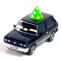 Wholesale 097 Pixar Cars green hat bad guy Scale Diecast Metal Alloy Modle Brio Cute Toys For Children Gifts