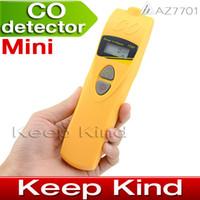 Wholesale AZ7701 CO Meter Carbon monoxide detector CO Gas detector Carbon monoxide alarm ppm