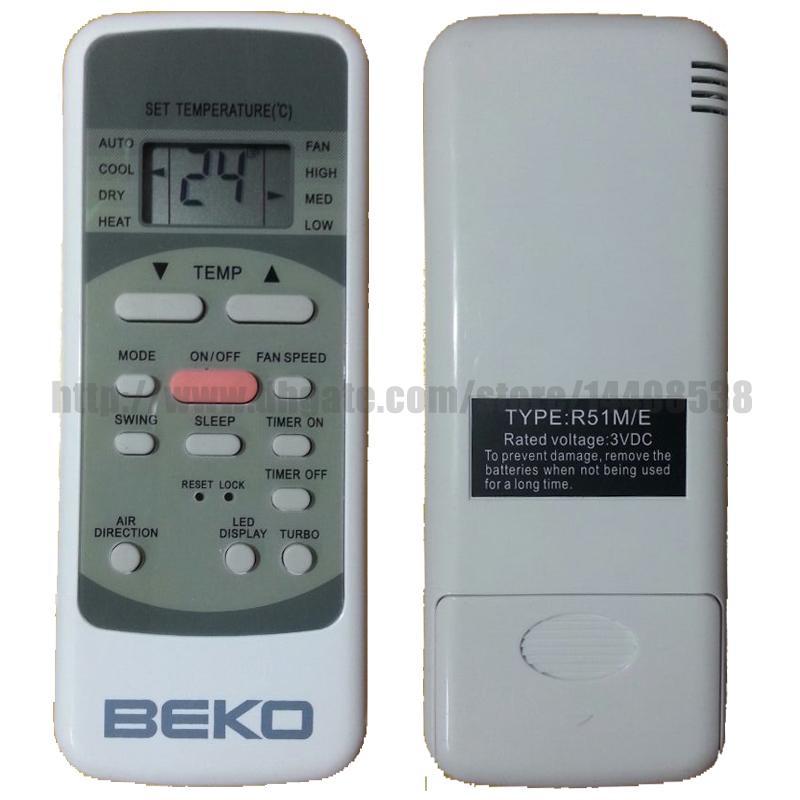 2017 Beko Air Conditioner Beko Remote Control Compatible