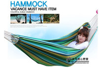 Cotten Outdoor Furniture MXY-005 double hammock hammock swings thickened leisure lovers