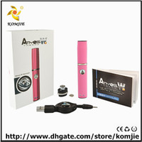 Wholesale promotion best quality pen wax vaporizer atmos raw hottest sell atoms Micro pen vaporizer g Atmos thermo W mini micro vaped pen