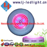 Wholesale led hydroponics lighting w ufo led grow light red blue orange or full spectrum for you choose