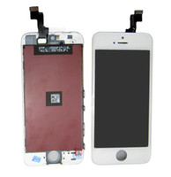 For Apple iPhone   High Quality For iphone 5 5S LCD Display With Touch Screen Frame Digitizer Assembly Replacement