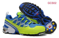 Wholesale 2014 New Colors Salomon Shoes Cheap SALOMON GCS Comp Ground Control System Athletic Trail Running Shoes High Quality Walking Shoes for Men