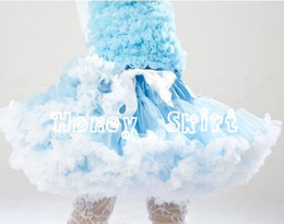 Wholesale European and American popular style adorable flower girls tutu dress and petticoat for stage wear