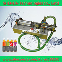 Wholesale Semi automatic electrical perfume liquids filling machinery pneumatic filler for foods oils soft drinks packaging bottling equip