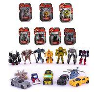 Wholesale 2014 New Arrive pieces Transformation Transformer Robot Legends Optimus Prime Bumblebee C cm Classic Toys for Children with Original Box
