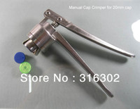 Wholesale x mm Stainless Steel Manual Crimper Flip Off Caps Hand Sealing Machine Tool mm is available also