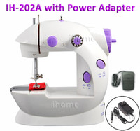 Wholesale Hot Selling Domestic Electric Mini Sewing Machine Dual speed Battery or AC Operated Small Household Sartorially