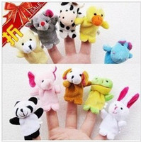 Big Kids talking toy - Popular toys Finger Puppets Talking Props Baby Plush Toy animal group
