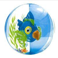 Wholesale Aquarium golden fish beach ball Brand INTEX children adult beach ball sea swimming play toys cm volleyball kids water play balls