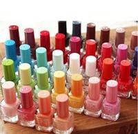Pinks base nail enamel - 2014 new Cheap Environmental Colors Nail Polish Quick Dry Nail Varnish Candy Color Nail Enamel