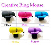1200 Wired Mini High Quality Mini USB Cable Creative lazy Mouse Finger Mouse Mouse Ring