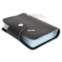 Wholesale 2013 Hot sell Good quality genuine leather business women men card holder hasp card case