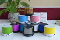 Wholesale Colorful ECHO S10 Mini Speaker Metal Compact Bluetooth V3 Wireless Stereo Mini Speaker Speakerphone Mobile