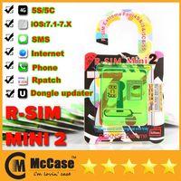 For Apple iPhone 4S 5 5S 5C apple iphone internet - Original RSim R SIM R SIM MINI MINI2 Thin Film Unlock Card For Iphone S S C IOS X Verizon T MOBILE SMS G G Internet