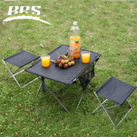 Wholesale Brst ultra light z33 outdoor folding table aluminum alloy table picnic tables and chairs portable stool