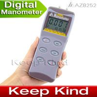Wholesale AZ8252 Digital Manometer psi Digital pressure gauge micro pressure meter