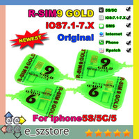Unlocking Card activation gold - Professional edition R SIM R SIM RSIM GOLD Unlock SIM Card with activation code unlocking for iphone C S G G IOS X IOS7