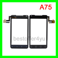 Wholesale New Capacitive touch screen Digitizer for inch Android DAPENG A75 cellphone Mini order WITH TRACKING NO