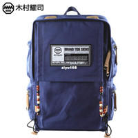 Unisex leather canvas laptop bag - new new Backpack laptop bag women men canvas travel bag big capacity canvas pu leather sport hiking bag