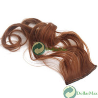 Wholesale New arrive X Popular Curly Clip In Hair Extensions quot Long