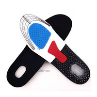 Wholesale 2 Pair Free Size Unisex Orthotic Arch Support Shoe Pad Sport Running Gel Insoles Insert Cushion for Men Women