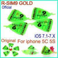 att micro sim card - Original RSim gold R SIM R SIM Gold Pro rsim9 golden Unlock Card micro silm nano For IOS x ios7 AUTO Unlock iphone S C ATT
