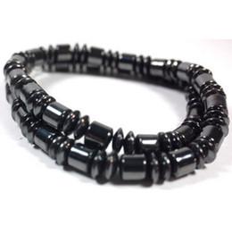 Wholesale SALE quot Pearl Black Magnetic Hematite Necklace Fashion Pain Therapy Arthritis