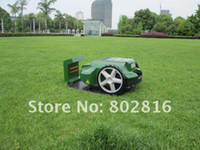Wholesale 200m Virtual Wire New products Robot Mower Automatic mower Lawn mower Grass cutter