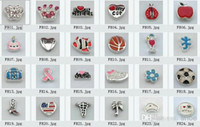 Charms Valentine's Day Charms Wholesale - 300pcs floating locket charms mixed 60pcs styles floating charms for glass memory living floating locket pendant Xmas gift no lo