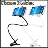 Cheap Flexible Adjustable Long Mobile Phone Holder Stand Desktop stand bed lazy headboard bracket for iphone5 5s Note3 Note2 Samsung Galaxy S5 S4