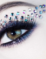 new arrival sexy bling eye rock luxury crystal eyeshadow sti...