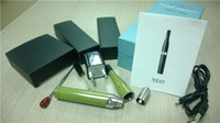 Electronic Cigarette Set Series Vgo vaporizer kits Environment friendly VGO e cig; top quality vgo vaporizer; design patented vgo e cigarette Vgo-T Style Dry Herb Vaporizer DHL Free Shipping
