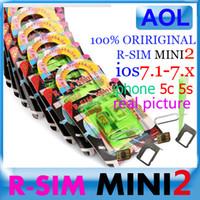 iPhone 5s/5c,5/4s att mini sim card - 100 WARRNTY ORIRIGINAL R SIM mini IOS ios iOS X R SIM mini2 R SIM MINI IOS7 for iphone S C ATT T M SB TECELL