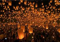 Wholesale Hot sale Sky Lanterns Wishing Lantern fire balloon Chinese Kongming lantern Wishing Lamp