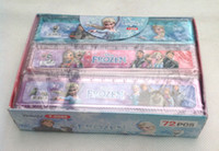 Wholesale Box Frozen Cute cartoon ruler cm straight ruler students gift
