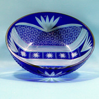 Wholesale High quality cut to clear Gass bowl fruit bowl
