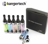 Wholesale Original kagner T2 CC tank atomizer genuine kanger tech t2 clearomizer with changeable coil head