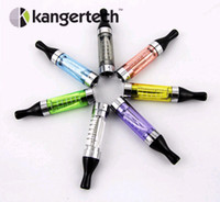 Wholesale Original kagner T2 CC clearomizer kanger tech t2 drip tip atomizer with long wicks changeable coil head