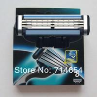 Wholesale pieces Hot sell Men s Razor Blades high Quality Blade Shaving razor blade Standard for US amp RU amp Euro