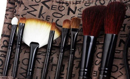 Wholesale 1404c new eight sets of brushes brushes with brush pack