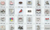 Charms Valentine's Day Charms Wholesale - 480pcs Mixed 100styles Floating Charms For Glass Memory Living Floating Locket Pendant Xmas Gift No Locket