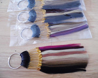 Cheap 22 colors set indian human hair made color ring chart wheel for human hair extensions color reference