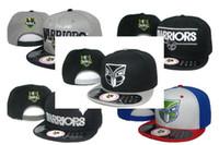 Wholesale 1pcs Free Shippping NRL Snapbacks Auckland Warriors Grey Black Blue Red styles Adjsutable Hats Hip Hop Street Caps All Teams