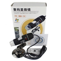 Wholesale 500X USB Digital Microscope Endoscope Magnifier Camera MP with LED Black in retail package