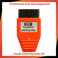 Wholesale Toyota Smart Key maker C D chip Toyota Smart Keymaker OBD2 Eobd TRANSPONDER KEY PROGRAMMER Free Fast shipping