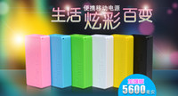 Universal Emergency Chargers  PERFUME 5600MAH PORTABLE BATTERY CHARGER POWER BANK for SAMSUNG IPHONE 4s 5 5C Nokia htc+V8 cable