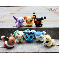 Wholesale Pokemon Plush Toys quot Umbreon Eevee Espeon Jolteon Vaporeon Flareon Glaceon Leafeon Animals Soft Stuffed Dolls