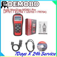 Wholesale Autel MD801 Pro MaxiDiag PRO MD Code Scanner in code scanner JP701 EU702 US703 FR704 multi language md scanner